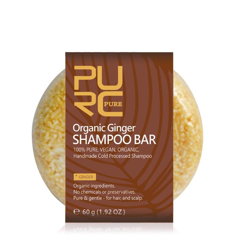 Organic Handmade Ginger Shampoo