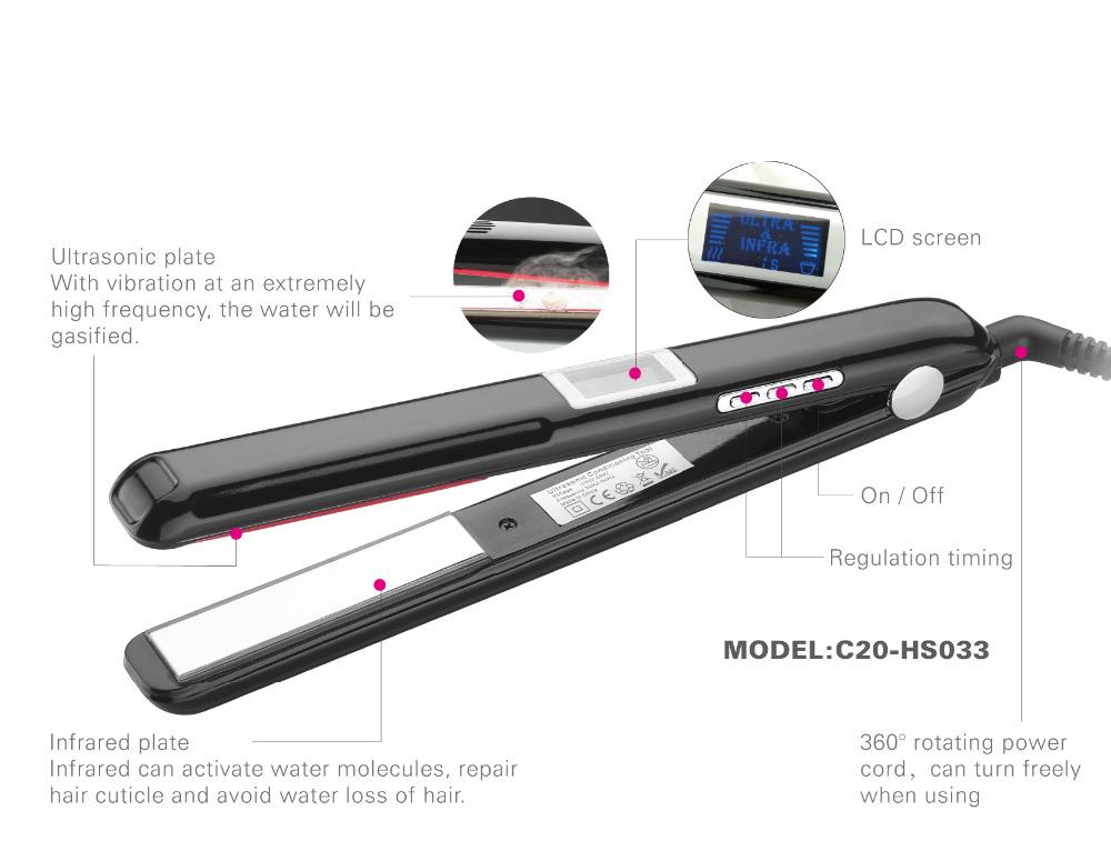 Ultrasonic Infrared Hair Treament Styler