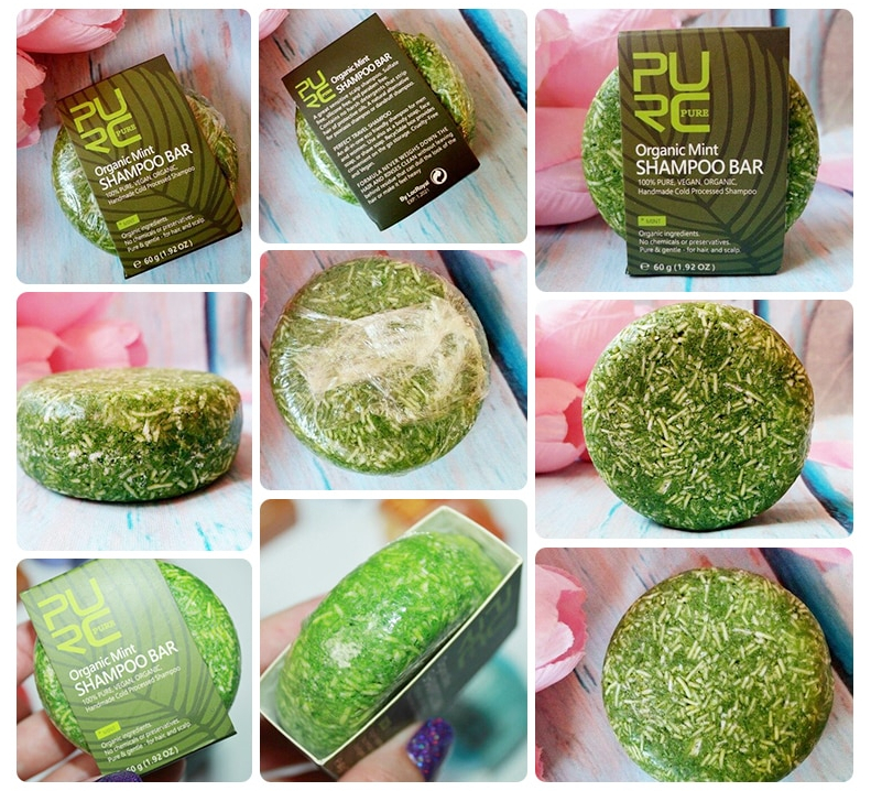 Organic Natural Mint Shampoo