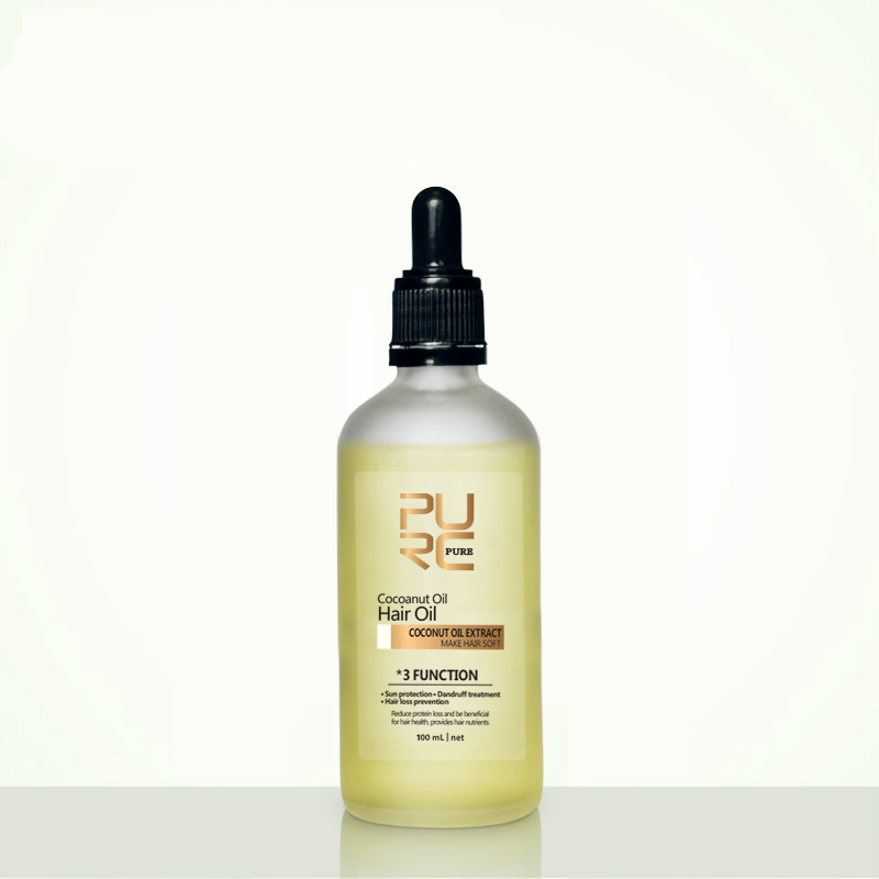 Natural Organic Coconut Oil for Hair