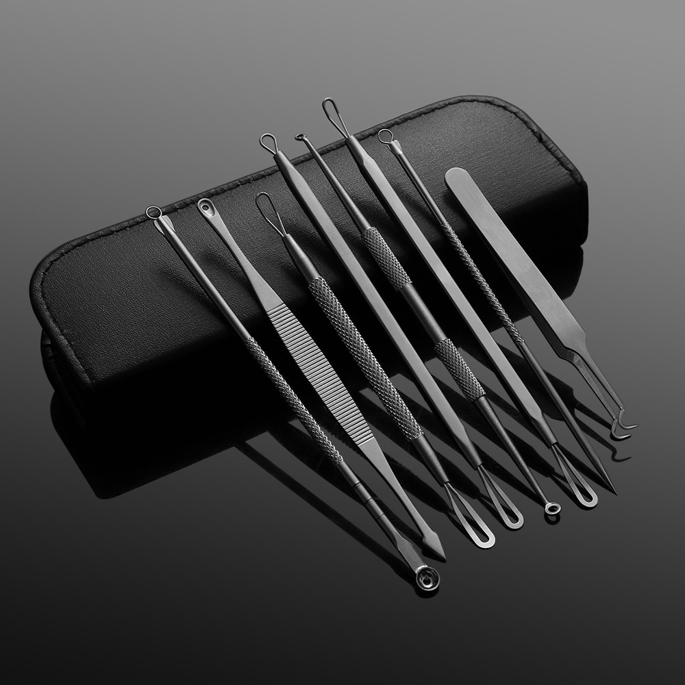 Acne Removal Steel Needle Tools