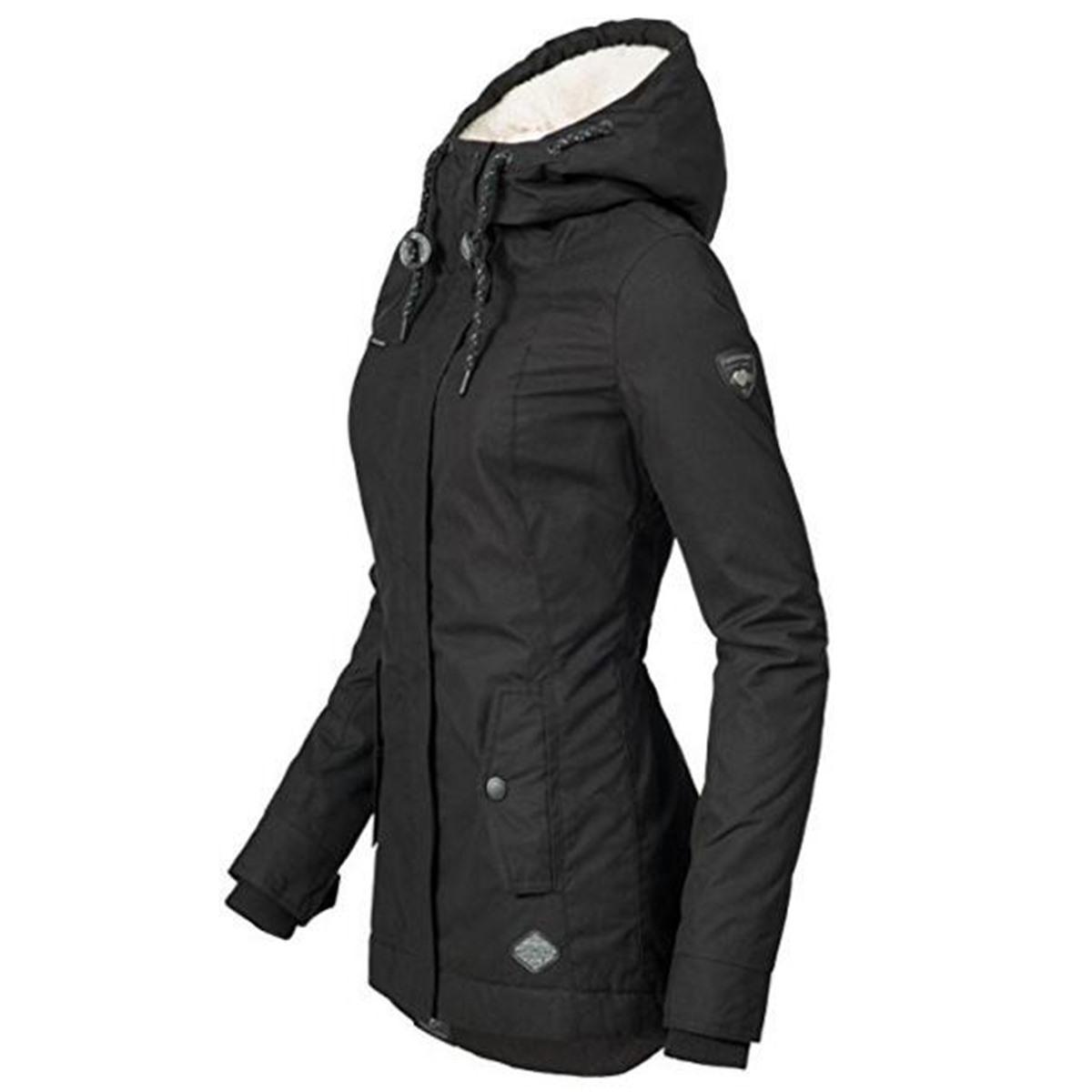 Women's Casual Hooded Down Jacket