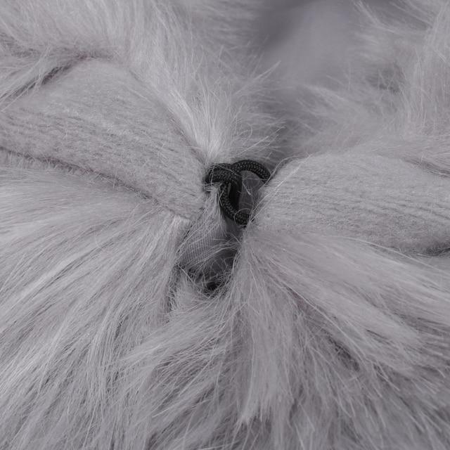 Women's Fluffy Fur Coat
