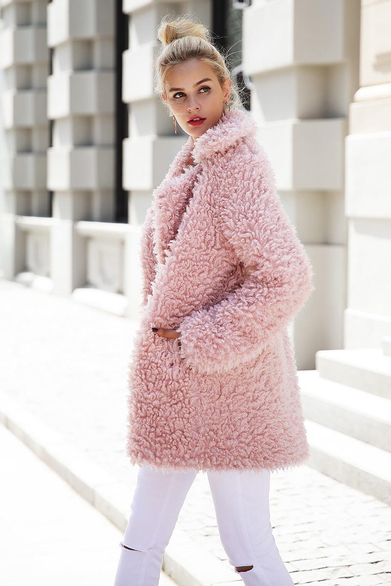Women's Soft Fluffy Coat