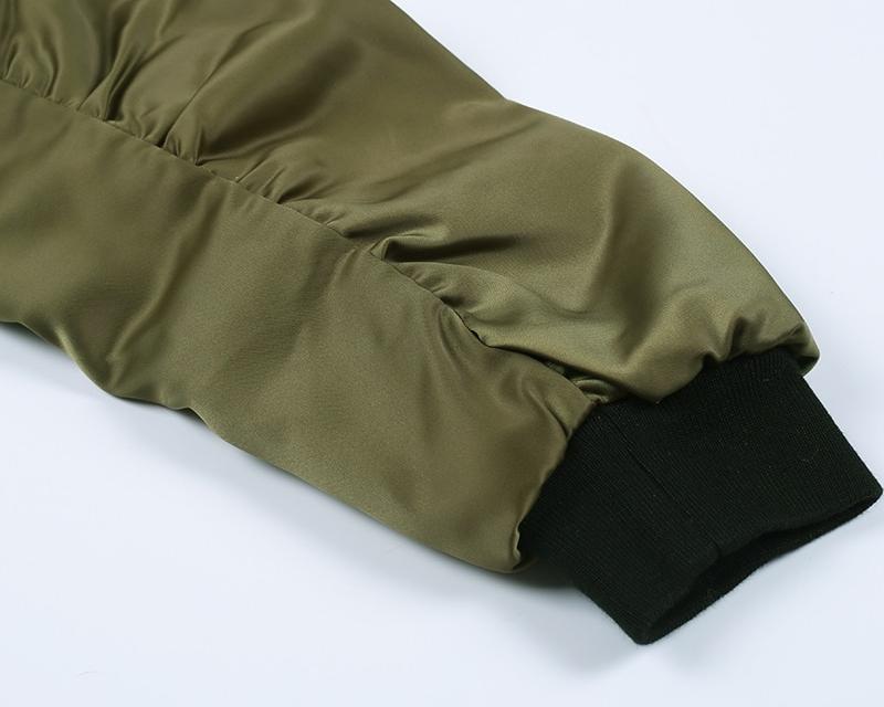 Women's Casual Zipper Bomber