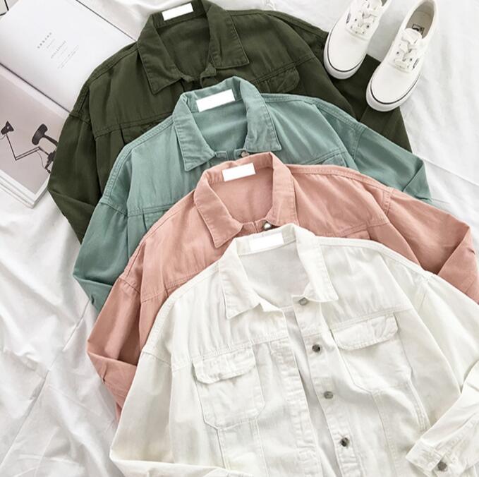 Denim Kawaii Women's Jacket