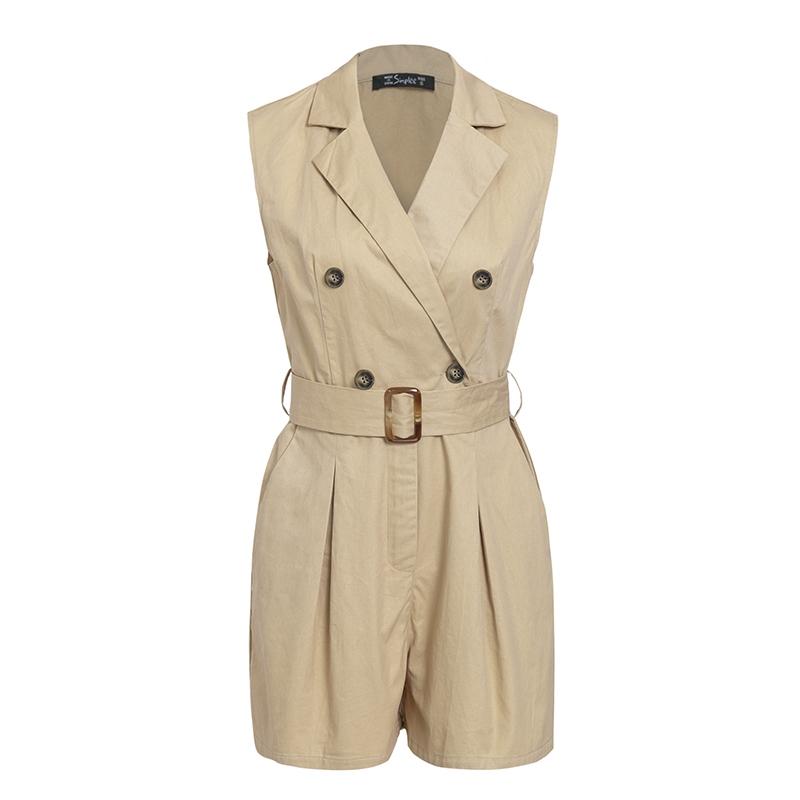 Women's Summer Cotton Jumpsuit