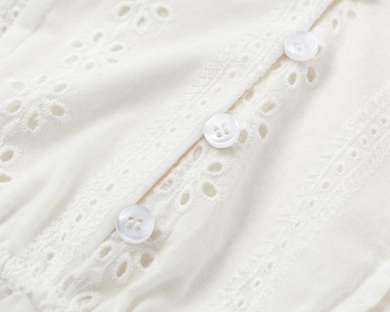 Women's Flare Sleeved V-Neck Blouse