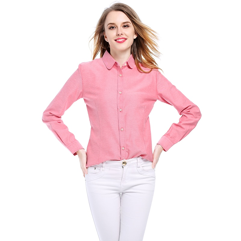 Casual Breathable Cotton Women's Shirt