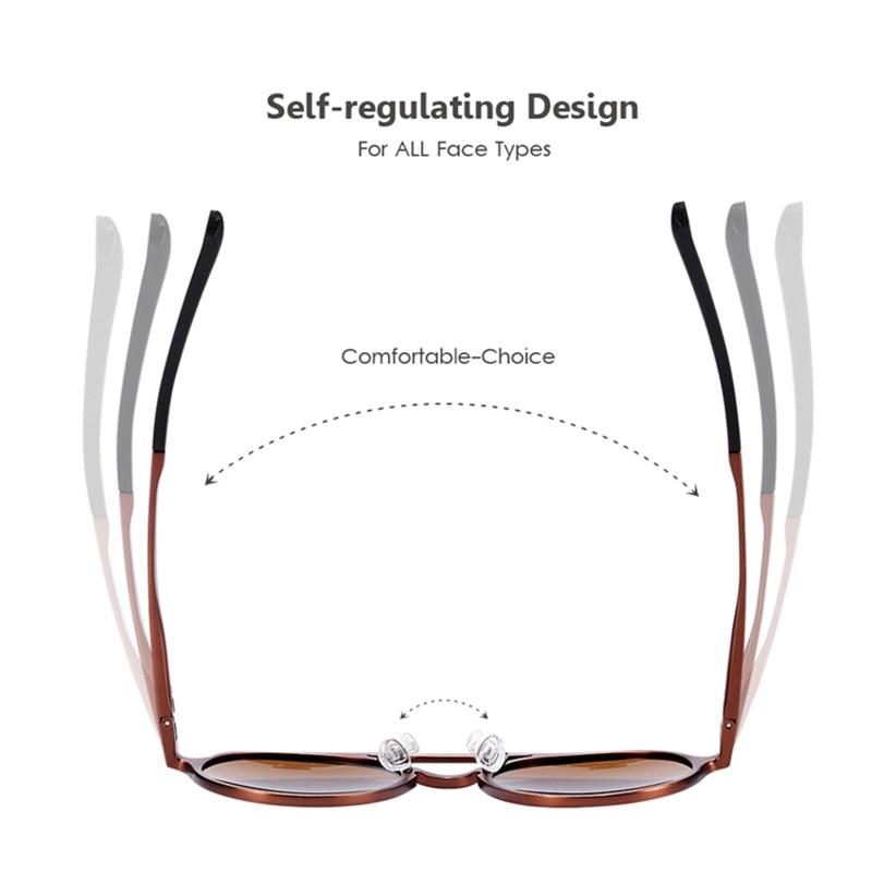 Women's Retro Round Sunglasses