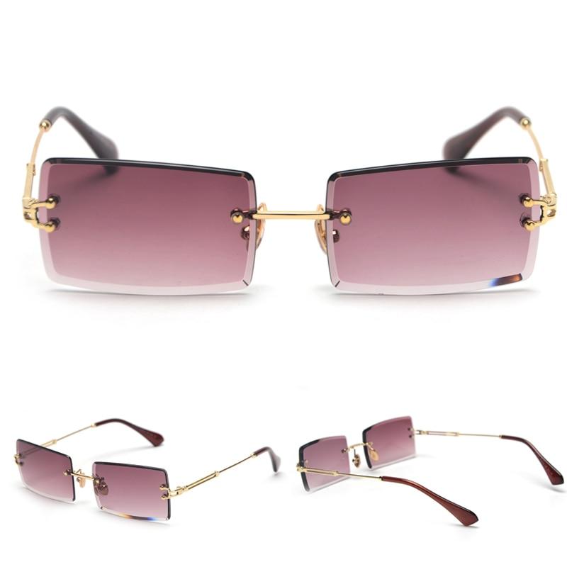 Women's Creative Rectangular Sunglasses