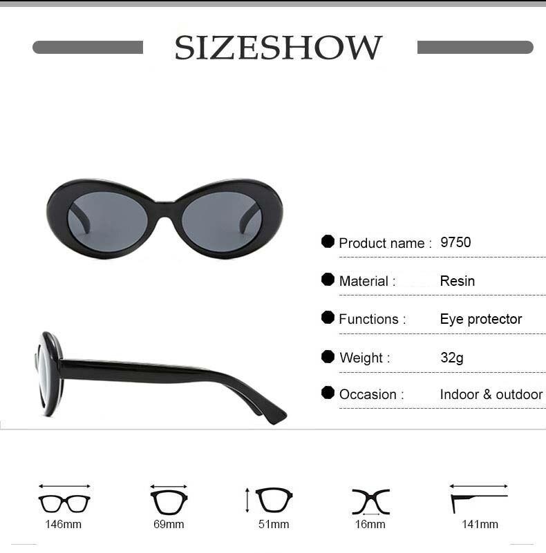 Women's Oval Sunglasses