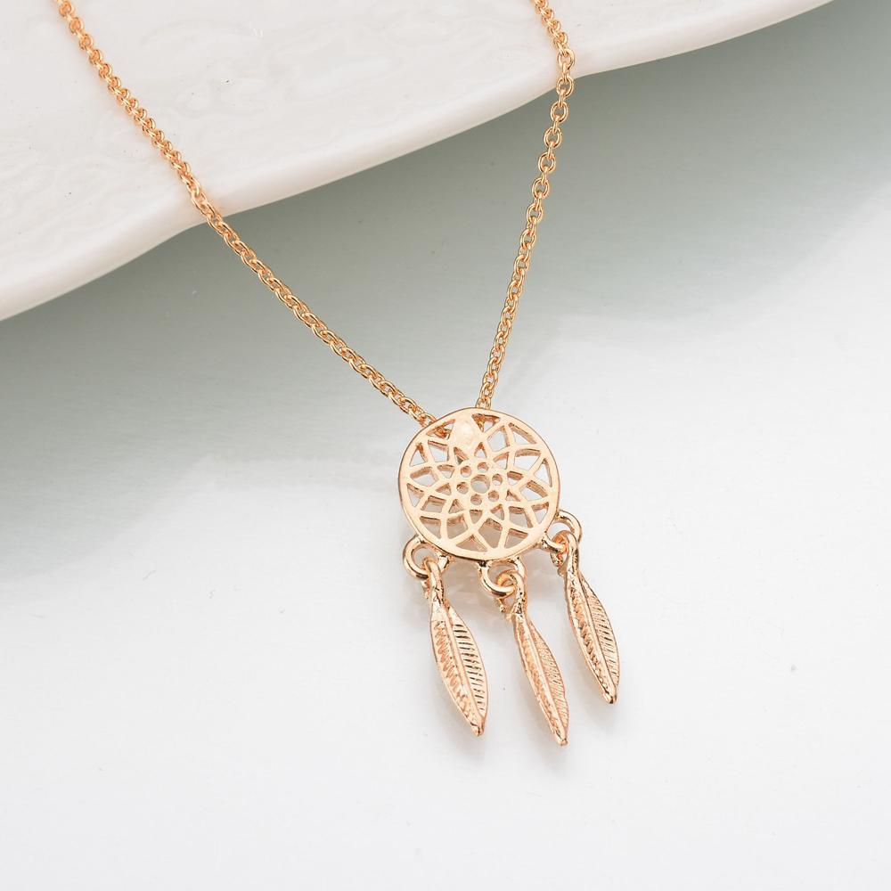 Women's Dream Catcher Design Necklace