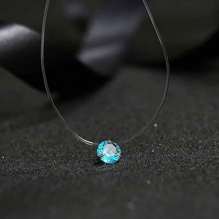 Women's Crystal Geometrical Shaped Pendant