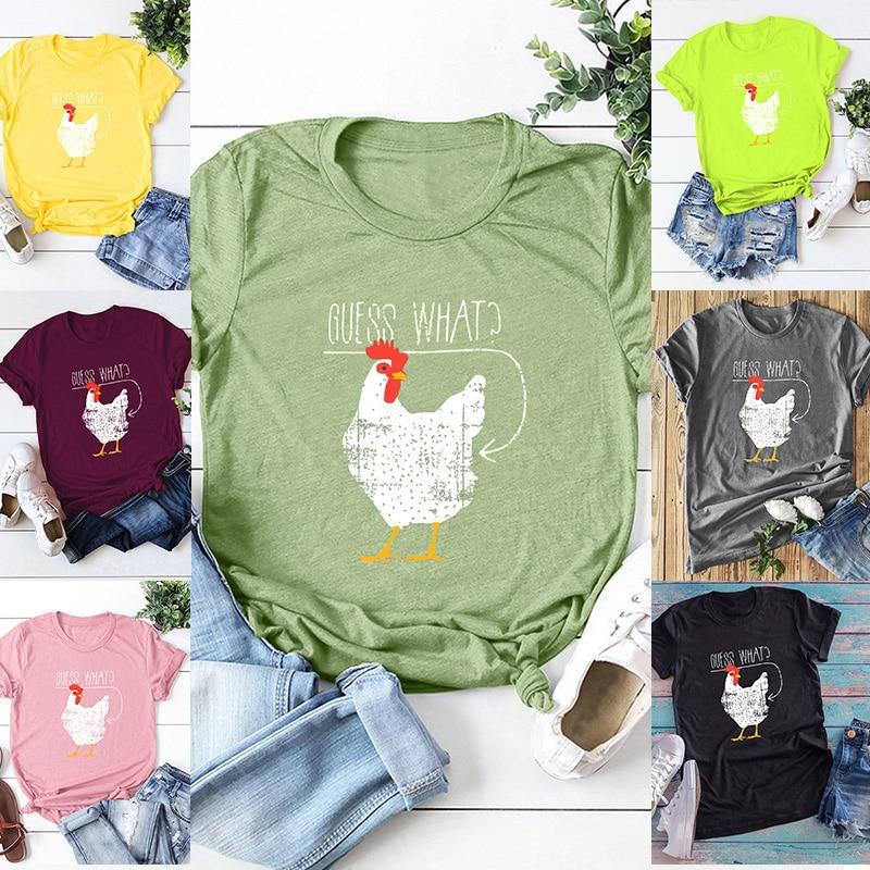 Women's Funny Banana Printed T-Shirt