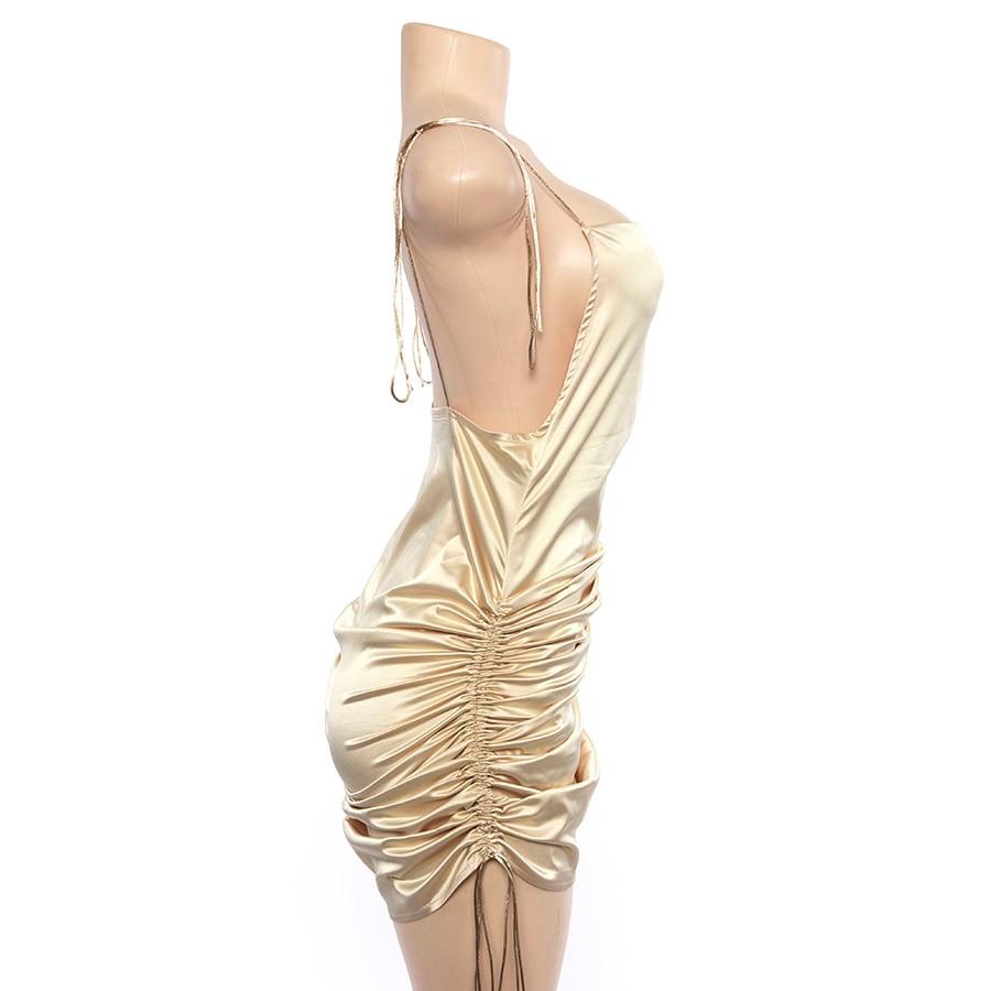 Women's Sexy Straps Backless Dress