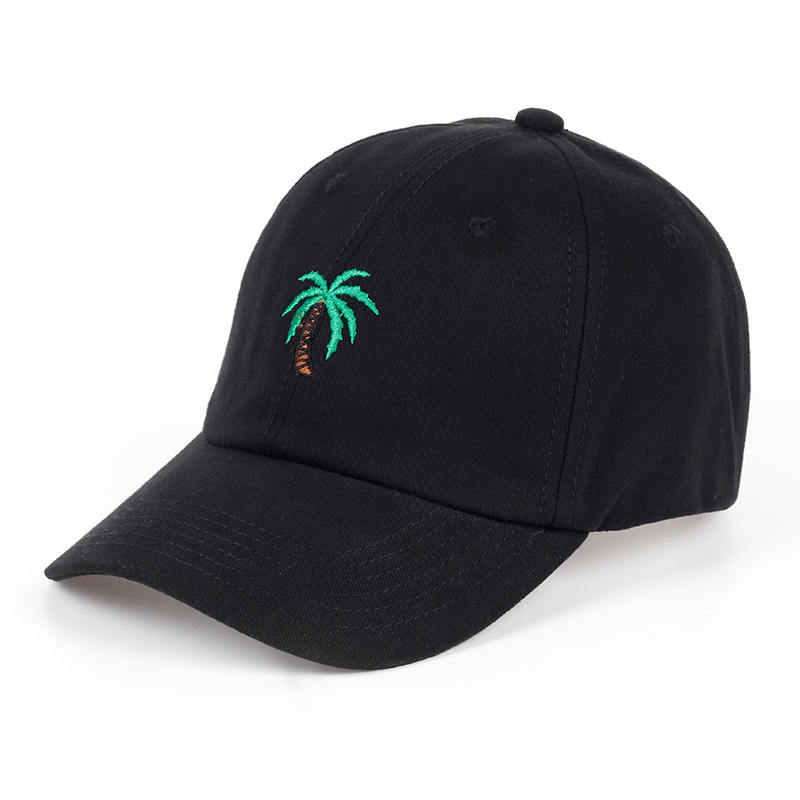 Palm Tree Embroidered Summer Baseball Cap