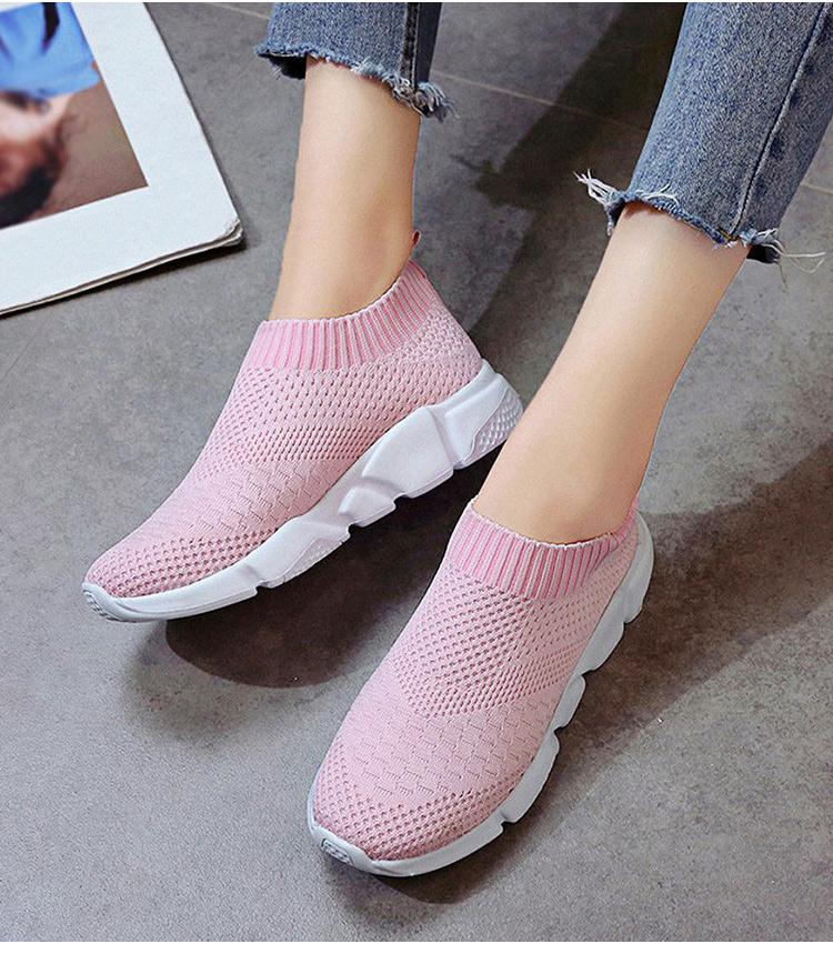 Women's Breathable Slip-On Sneakers