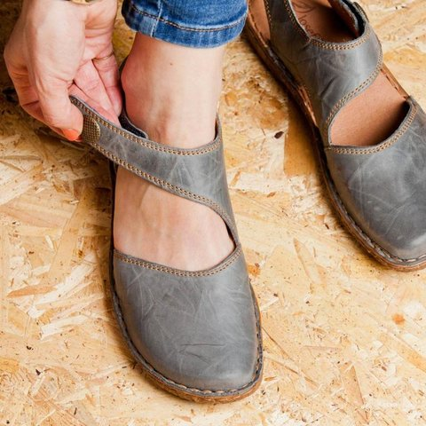 Women's Casual Leather Sandals